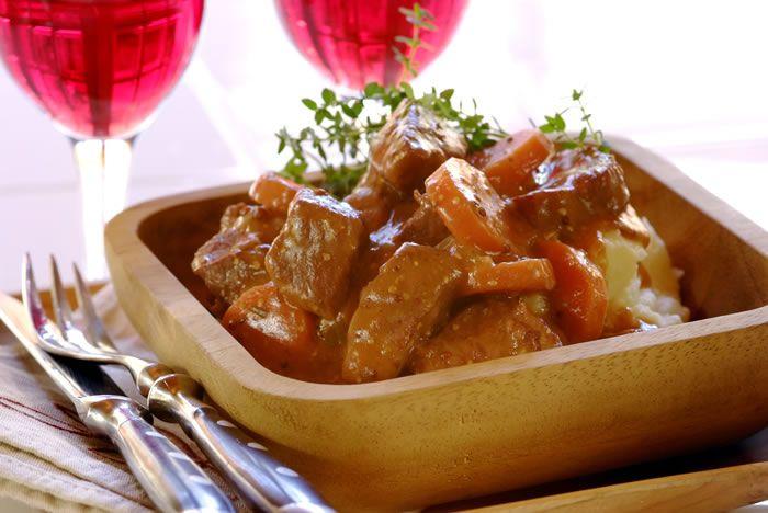 Mustard, Beef and Red Wine Stew | Super Stews! | Pinterest