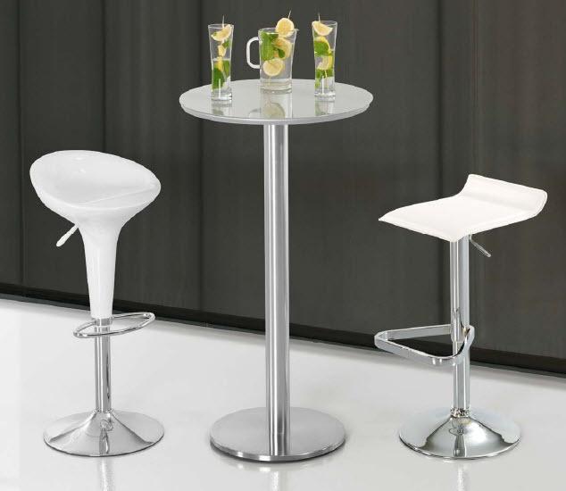 Conjunto de mesa barra y taburetes mesas y sillas para for Sillas para barra precios