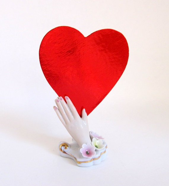 valentine day card hand made
