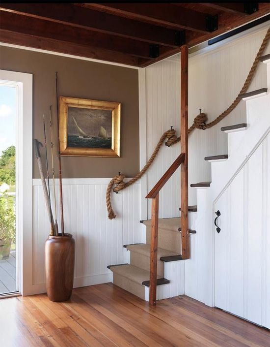 Best Rope Stair Rail For The Home Pinterest 400 x 300