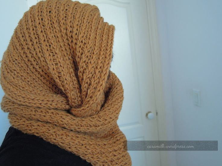 Snood Knitting Patterns : Loom Knit circle scarf loom knitting Pinterest