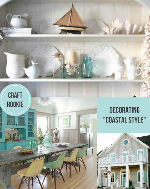 Craft Rookie Decorating Coastal Style Craft Rookie Blog Pint