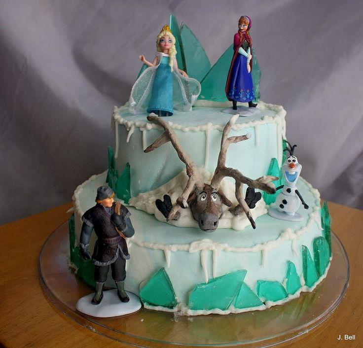 Movie 'frozen' cake ideas