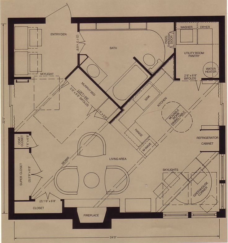 24 x 24 foot house plans google search home general for Find house floor plans