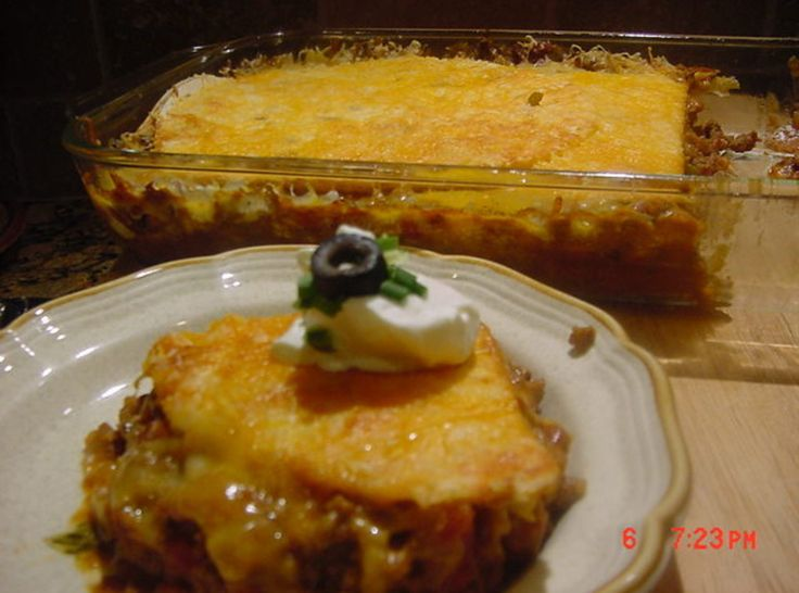TACO LASAGNA I have made this recipe and it is utterly delicious!