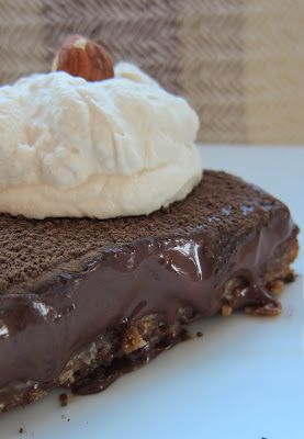 dark chocolate amp bailey s truffle tart with oatmeal cookie crust amp ...