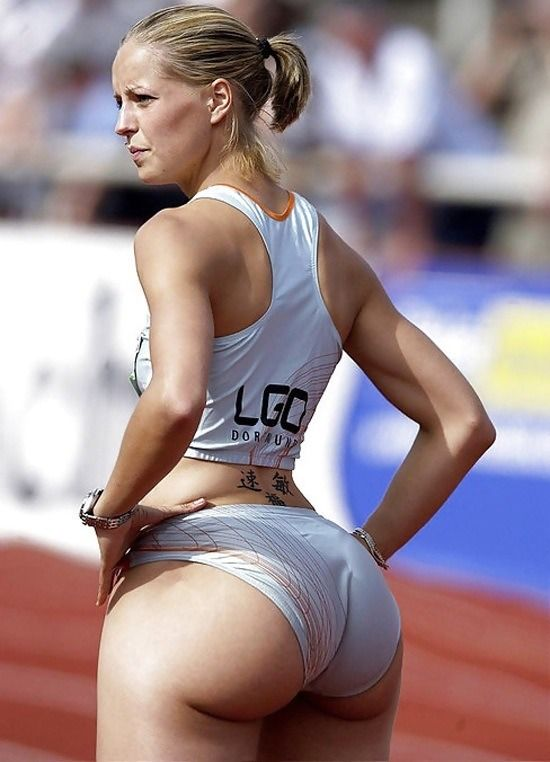 Track and Field Women Camel Toe