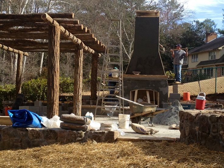 Portland Coat Build Your Own Outdoor Fireplace Pinterest