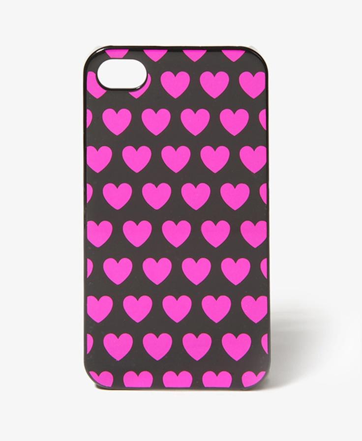 Metallic Heart Phone Case $7.80     <3<3<3