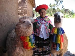 Folk dress in latin america usually consists of traditional costumes