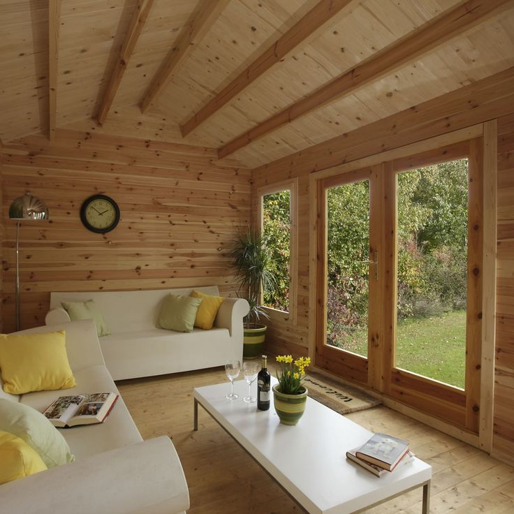 Shed Living Space Mini Homes Pinterest