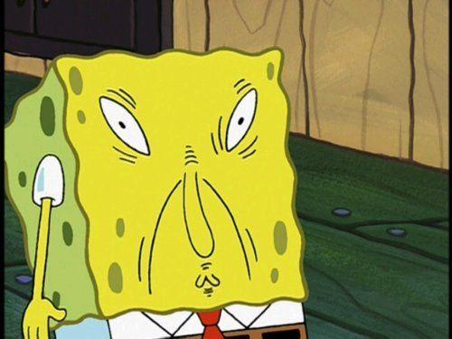 Ugly Spongebob spongebob's ugly face ...