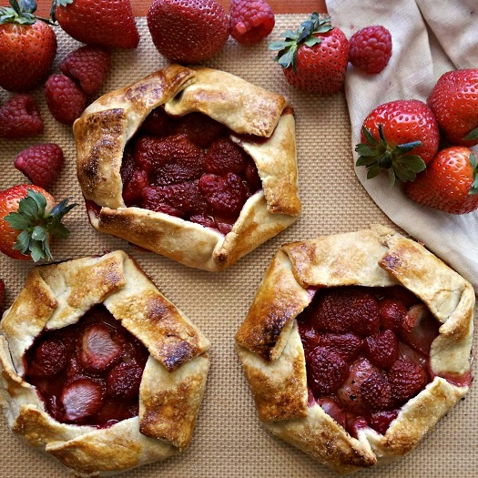 Mixed Berries Galettes Recipes — Dishmaps