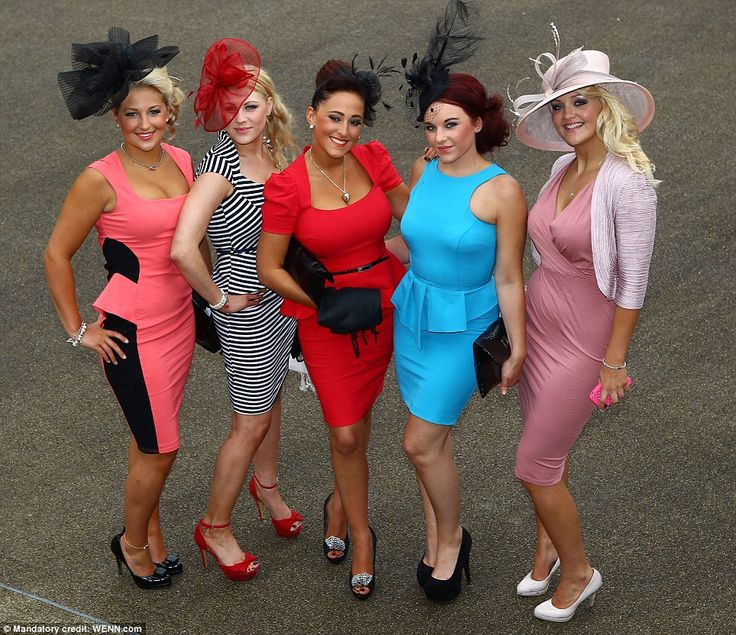 High fashion: Ascot chiefs said they were 'thrilled' by the sense of style shown by racegoers on Ladies' Day, after the dress code was tightened up