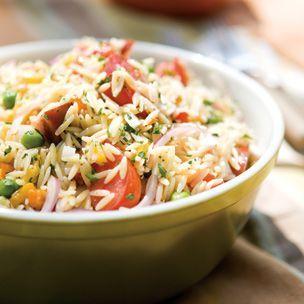 Orzo Salad Scrumptious Pinterest