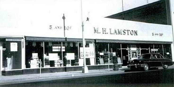 m h lamston 39 s 5 and 10 cent store main st hackensack vintage malls stores bergen. Black Bedroom Furniture Sets. Home Design Ideas