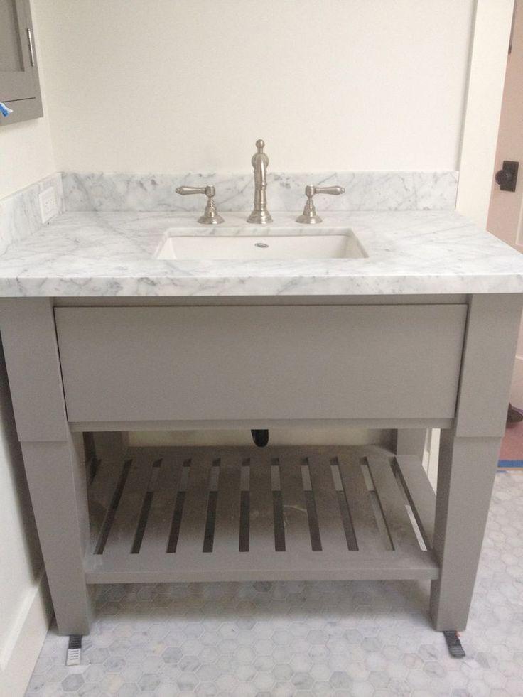 vanity FarmHouse Urban master bath