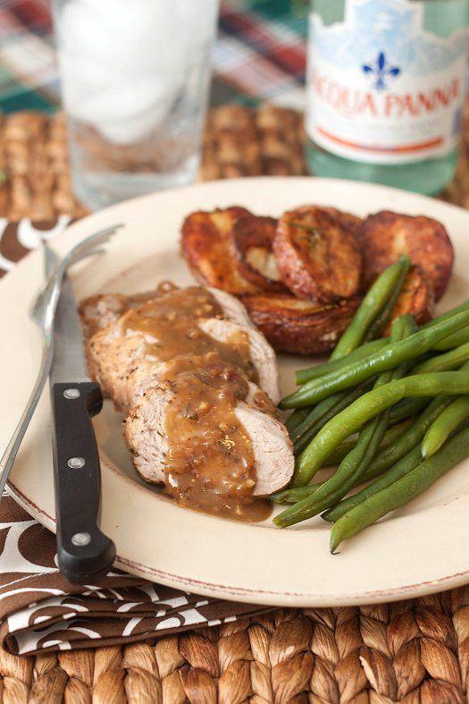 Pork Tenderloin with Honey-Mustard Sauce   Recipe