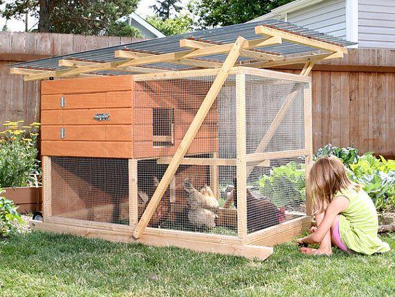 The Garden Ark Mobile Chicken Coop Plan Ebook Pdf By