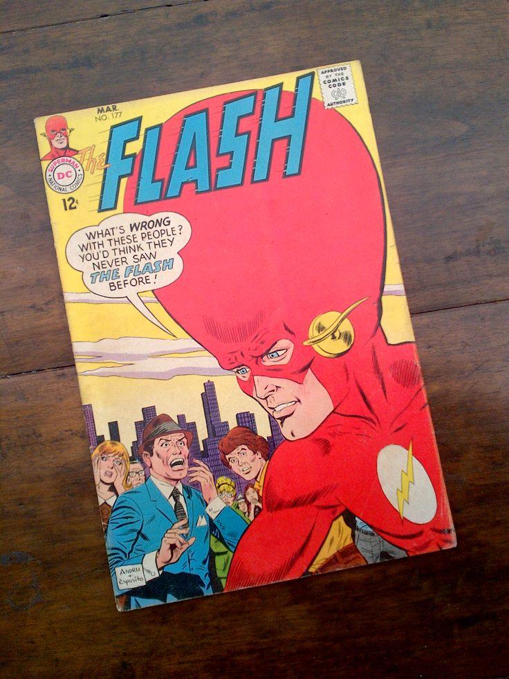 The Flash Mar No. 177   1968