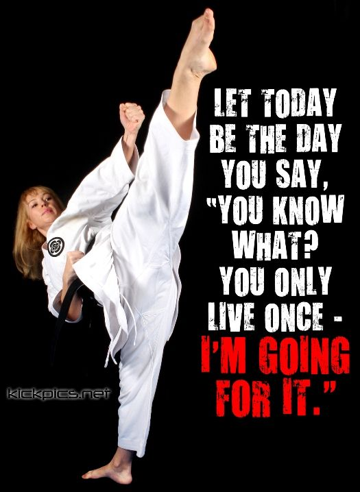 kickpics kickpics.net kick kicking karate shotokan woman female ...