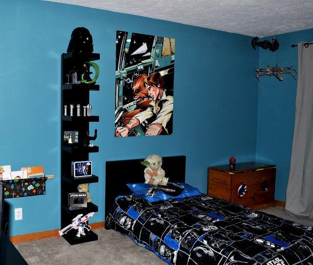 Comstar Wars Kids Rooms : Lil Mans Star Wars Bedroom.  Kids rooms  Pinterest