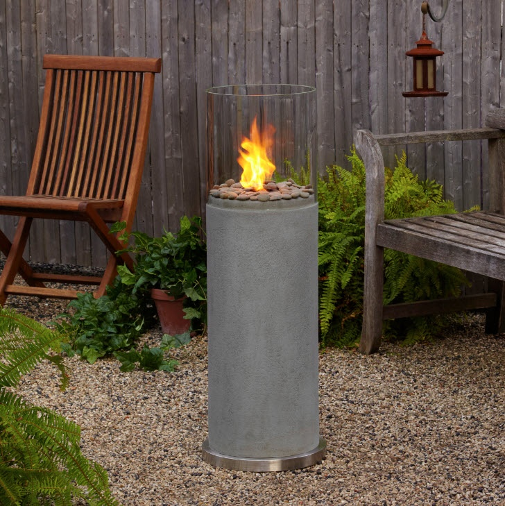pin by portable fireplace on modern outdoor fireplaces