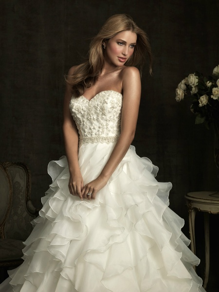 Pin by henri 39 s prom pageant and bridal on allure wedding for Columbus wedding dress shops