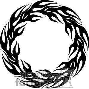 Band of Fire | Tattoos | Pinterest