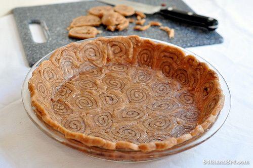 Cinnamon Swirl Pie Crust   Recipe