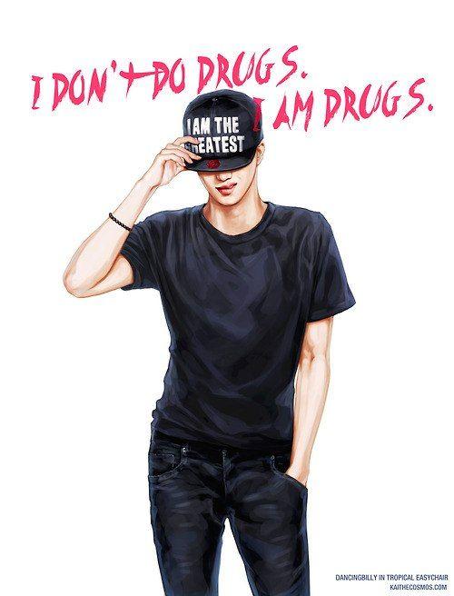 exo kai | My Beautiful Men | Pinterest Exo Kai Fanart