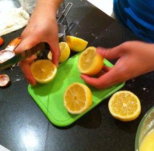 Reduced fat lemon squares | Food | Pinterest