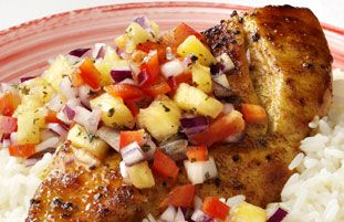 Schwartz recipe for Jamaican Jerk Chicken with Pineapple Salsa ...