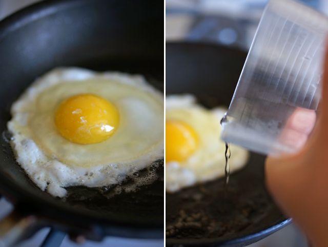 Perfect fried eggs | Breakfast | Pinterest