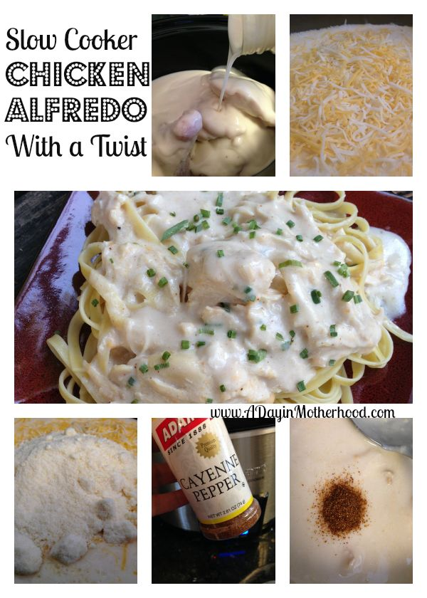 Slow Cooker Chicken Alfredo | in the pot | Pinterest
