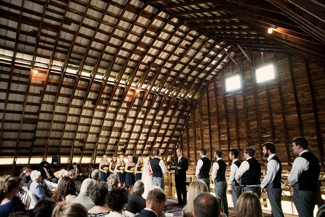big barn with lots of light and no decor = perfect