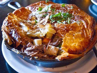 Eat, Drink: Short rib Wellington pot pie, egg nog