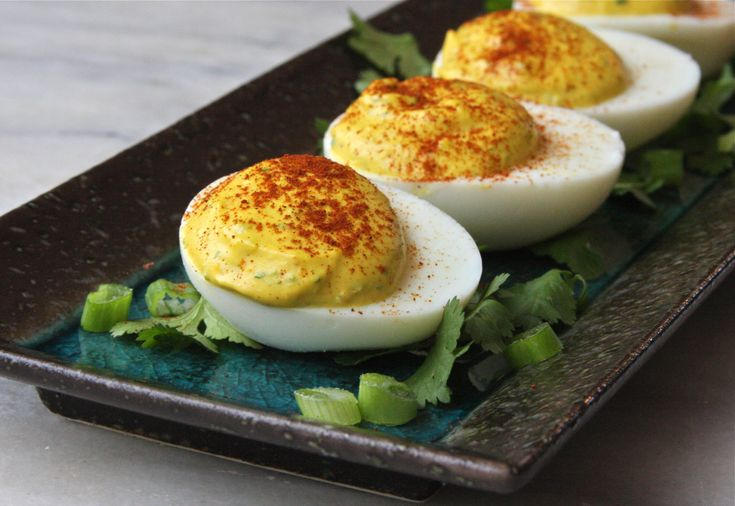 Curried Deviled Eggs | Divine Health