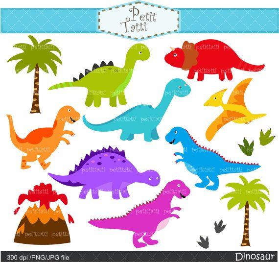 Dinosaur digital clip art dinosaur clip art baby dinosaur dinosaurs