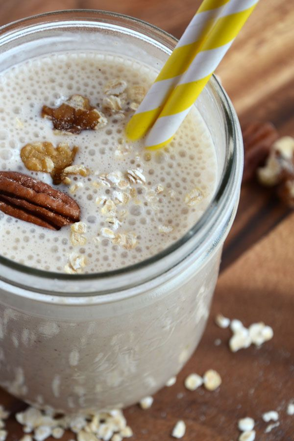 Banana Bread Protein Smoothie | If cooking these things are cool, con ...