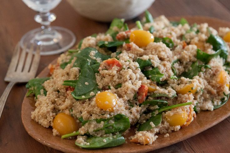 Balsamic Tomato Quinoa Salad!