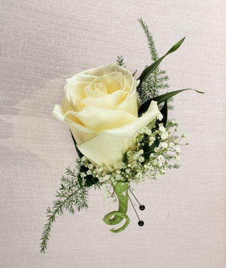 Stadium Flowers Rose Boutonniere 50th Wedding Anniversary Ideas