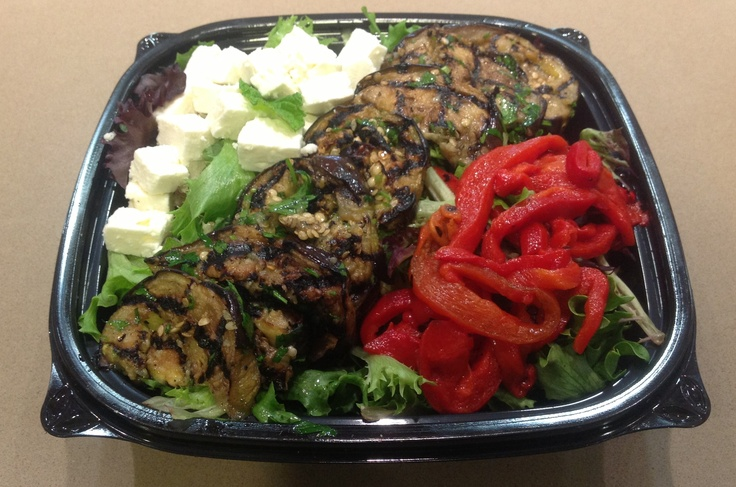 and feta eggplant and peppers with feta recipes dishmaps eggplant ...