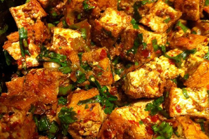 breaded fried softly spiced tofu recipe yummly breaded fried softly ...