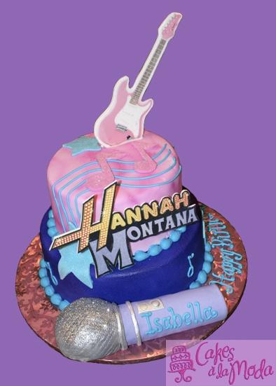 Hannah Montana Cake by Cakes a la Moda