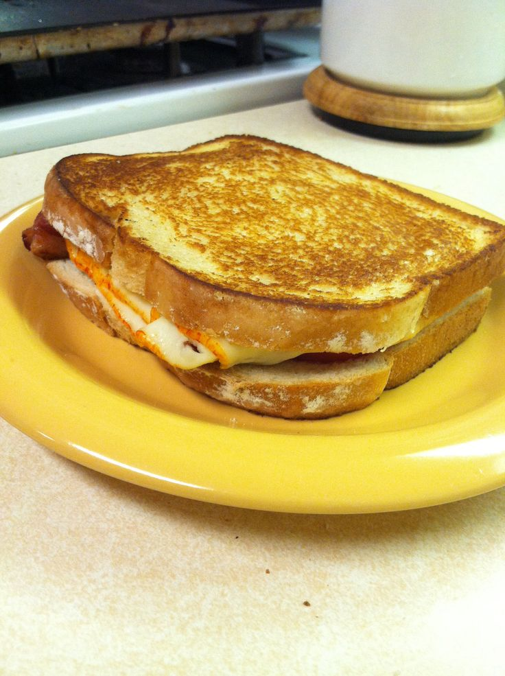 Grown up grilled cheese (1 sandwich): 2 slices sourdough bread, 2 ...