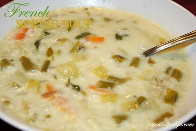 French Spring Soup. This is the best soup I have ever had! So easy my ...