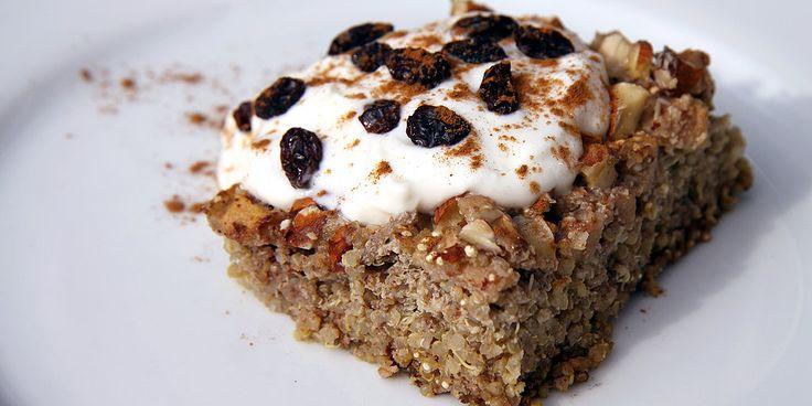 Hearty and Healthy: Gluten-Free Apple Cinnamon Quinoa Breakfast Bake
