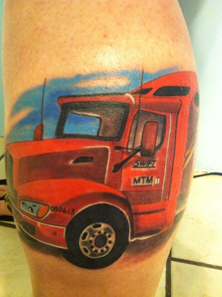 Semi Truck Tattoos Tattoo Ideas Semi Truck
