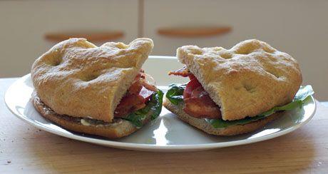 Focaccia Sandwich | Panini, burgers, sandwiches, rolls, pizza | Pinte ...